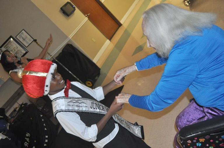 Rabbit Fest royalty brings smiles to elderly, represents community at Spur Fest