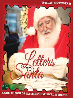 Letters to Santa brought to you by The Killeen Daily Herald.