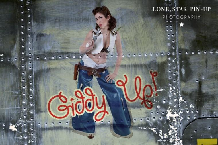 Giddy up, cowgirl