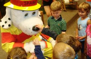 Fire safety lesson