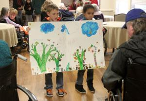 Kids Care Club at Wind Crest Nursing Home