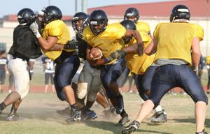 Shoemaker Spring Football