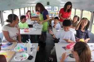 Tap Tap Art School Summer Class