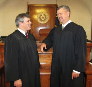 Judges in Coryell Courtroom