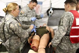 Mass casualty exercise