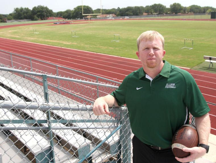 Ellison Football Coach Derek Levisay