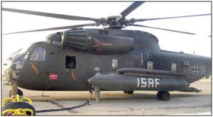German helicopters refuel with help of 4th CAB troops