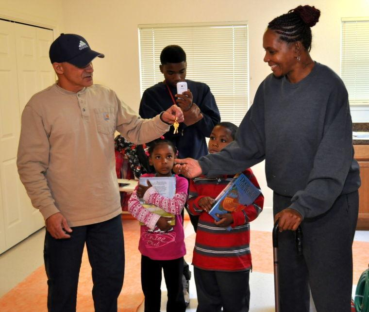 Family gets new home in time for Christmas
