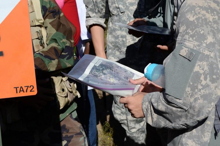 Land navigation exercise