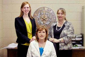 Vicky Johnson, CPA; Debbie Hershberger, CPA Principal; Janet (Penny) Stephenson, CPA, CFE, FCPA Manager