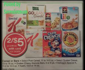 Special K 2 for $5 at Walgreens!