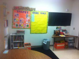 Effective classroom interior decor
