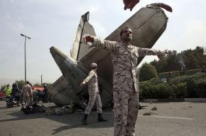 Crash of Iranian-built passenger plane leaves 39 dead