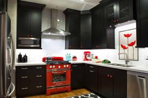 Kitchen takeover: Black is the new white