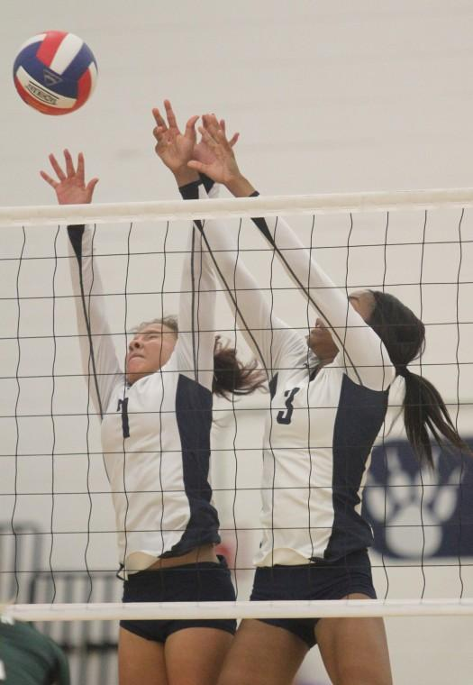 Ellison vs. Shoemaker Volleyball