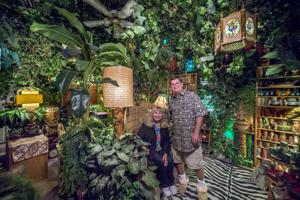 California home transformed into a temple of Tiki