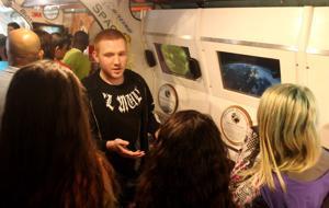 Science Exhibit on Wheels