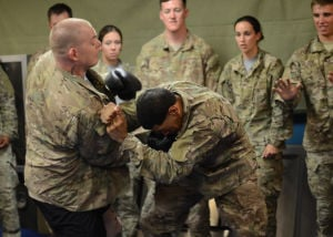Closing the distance: KAF Soldiers embody warrior ethos during Army Combatives drill