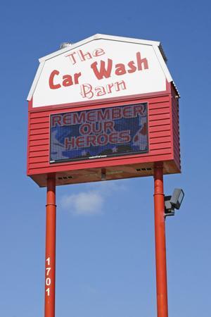 Purple Heart Car Wash