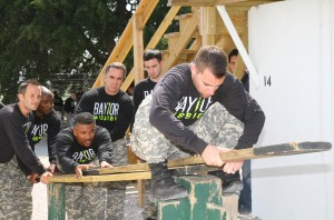 Baylor Men's Basketball Visit Fort Hood