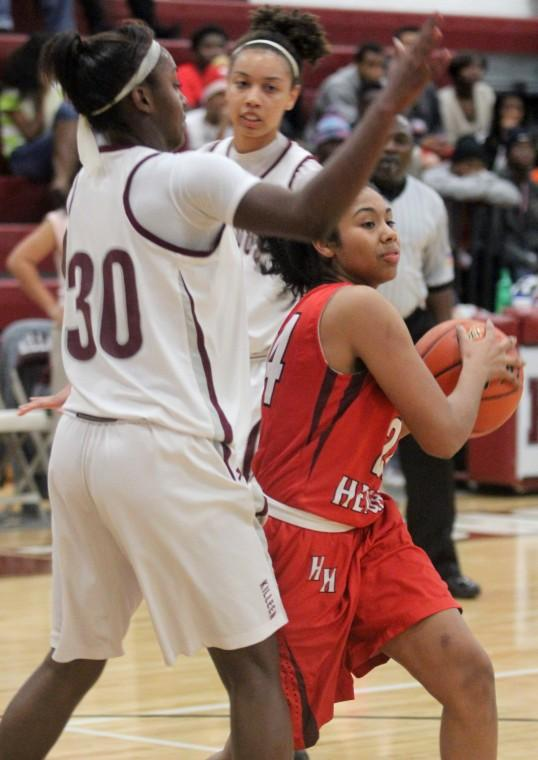 Killeen vs Harker Heights Girl's Basketball