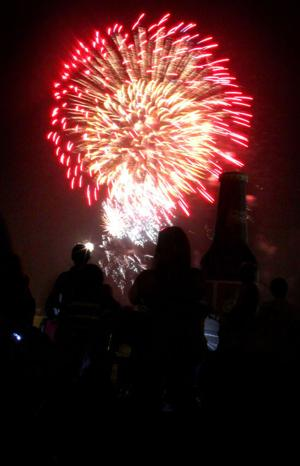 Fireworks at Fort Hood