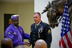Purple Heart presentation