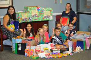 <p>Copperas Cove Girl Scout Troop 6120 collected items for fellow students as they headed back to school. In addition to school supplies, troop members also collected gently used clothing and coats.</p>
