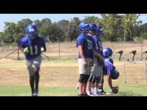 Copperas Cove Football Practice