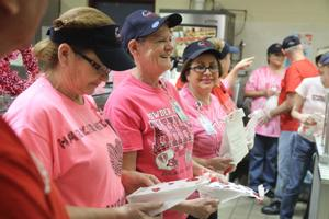 Heights Gifts to Cafeteria Workers