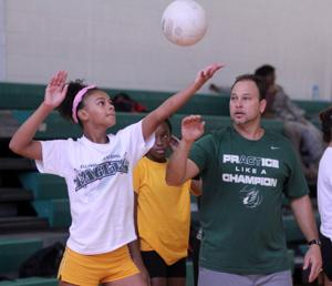 Ellison Volleyball Camp