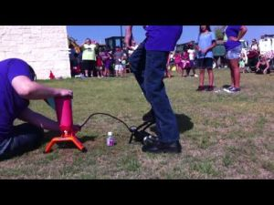 Harker Heights Library Wacky Wednesday- Water Rockets