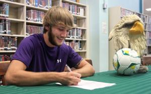 Ellison Soccer Signing