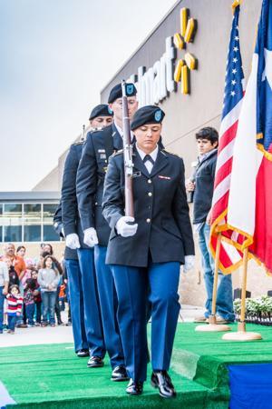 Texas A&M-Central Texas ROTC cadets