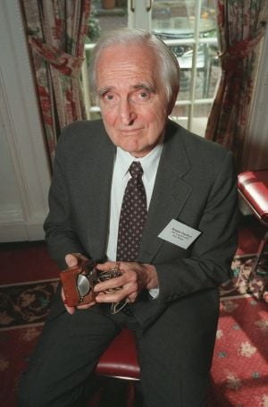 Doug Engelbart, inventor of the computer mouse
