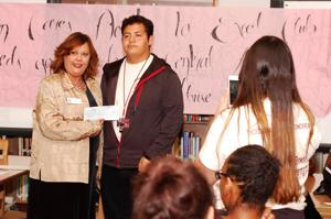 KHS Excel Club donates to Aware, other organizations