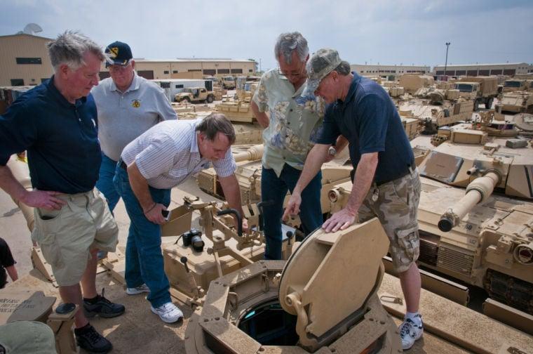 Vietnam veterans meet their contemporaries on Fort Hood