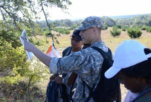 Land navigation exercise