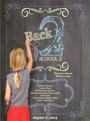 Back to School publication from The Killeen Daily Herald