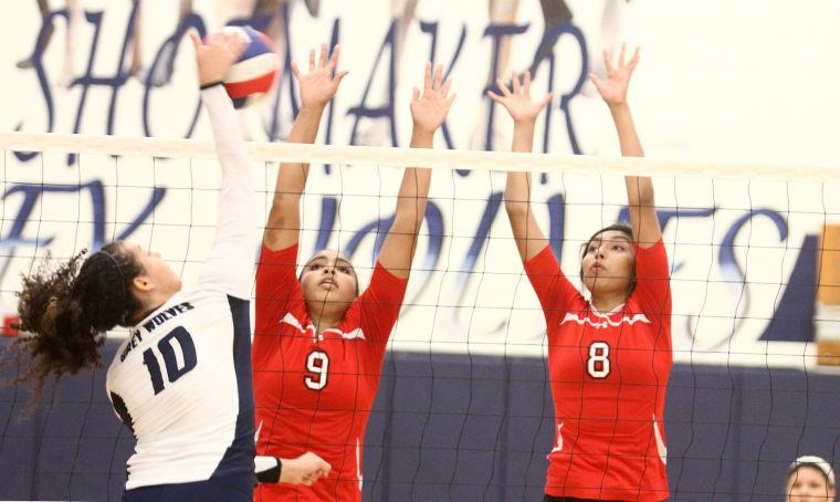 Volleyball: Shoemaker v. Belton