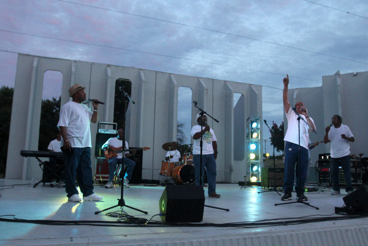 Attendees enjoy Juneteenth concert
