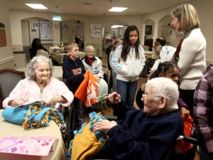 Kids Care Club at Wind Crest Nursing Home