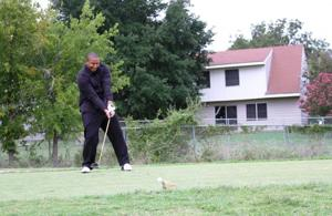 Rail Gunners play golf
