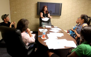 Business Resource Center teaches attendees about finances