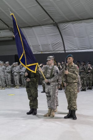 Multinational Battle Group-East transitions to Kosovo Force 18