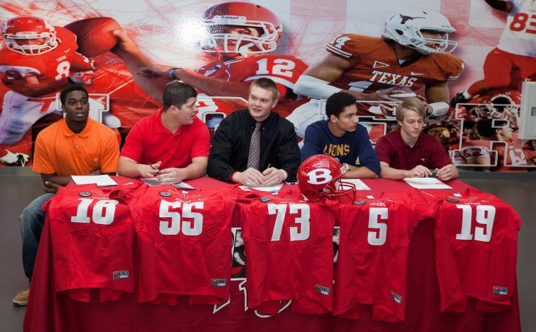 Belton signing day