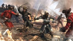 "Game Review Assassin's Creed IV: This video game image released by Ubisoft shows a scene from ""Assassin's Creed IV: Black Flag."" (AP Photo/Ubisoft) - Photo by HOEP"