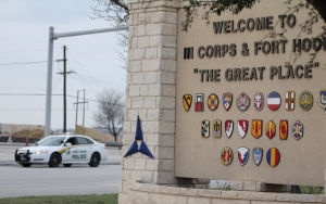 Fort Hood Main Gate
