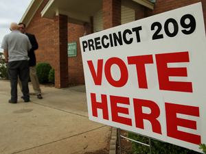 'No problems' reported by area voters