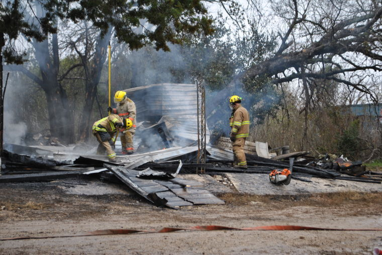 Early morning fire near Nolanville